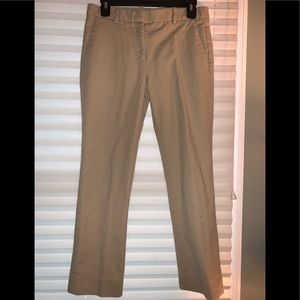 2/$20 Tan Gap taylored crop pants